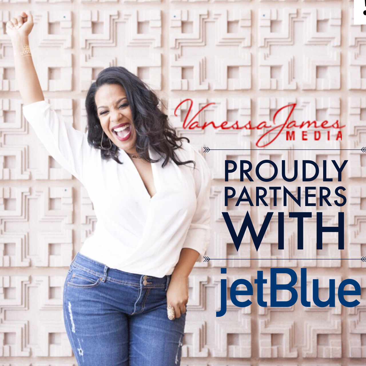 Jet Blue and VJMedia get ready to #JetSetGo.