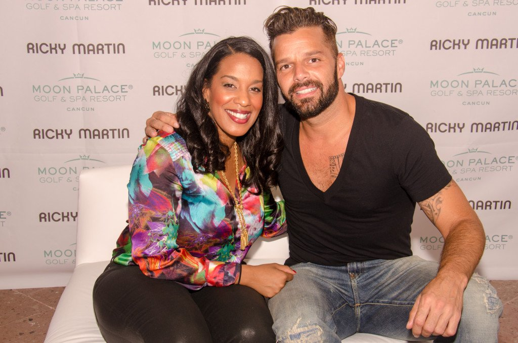 Ricky Martin interview.