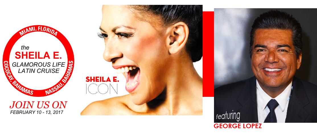 Sheila E. headlines the Glamorous Life Cruise- Wanna join me?