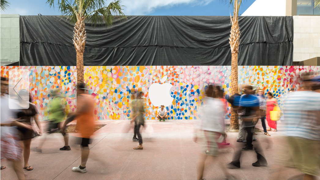 The Apple Store Lincoln Road: Street Style Meets Tech.