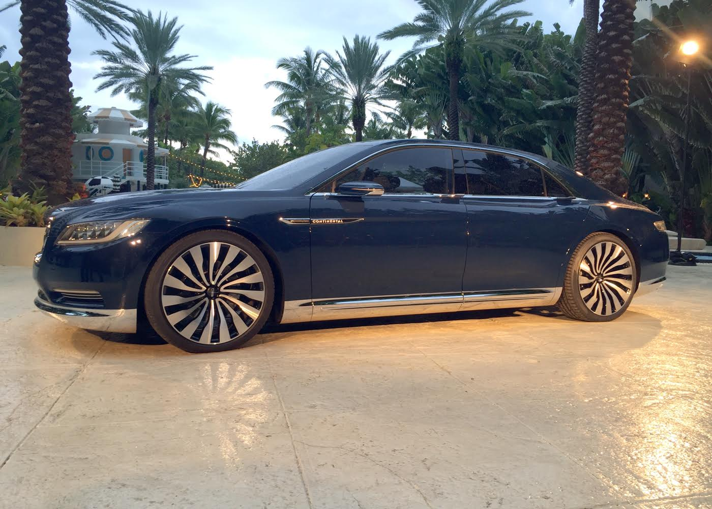 Lincoln's Continental concept car is a show stopper!