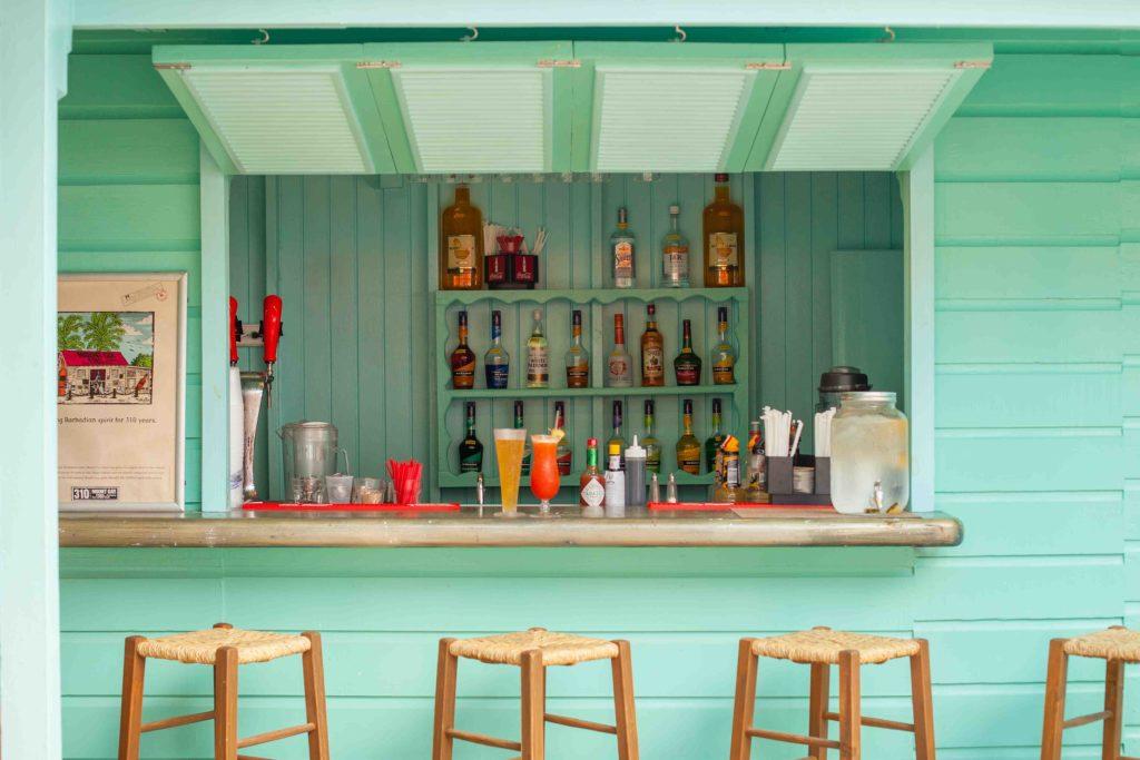 Colin's Beach Bar Sugar Bay Barbados