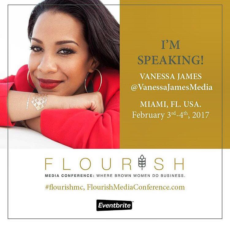 I'll be speaking at the Flourish Media Conference in Miami. Join me!