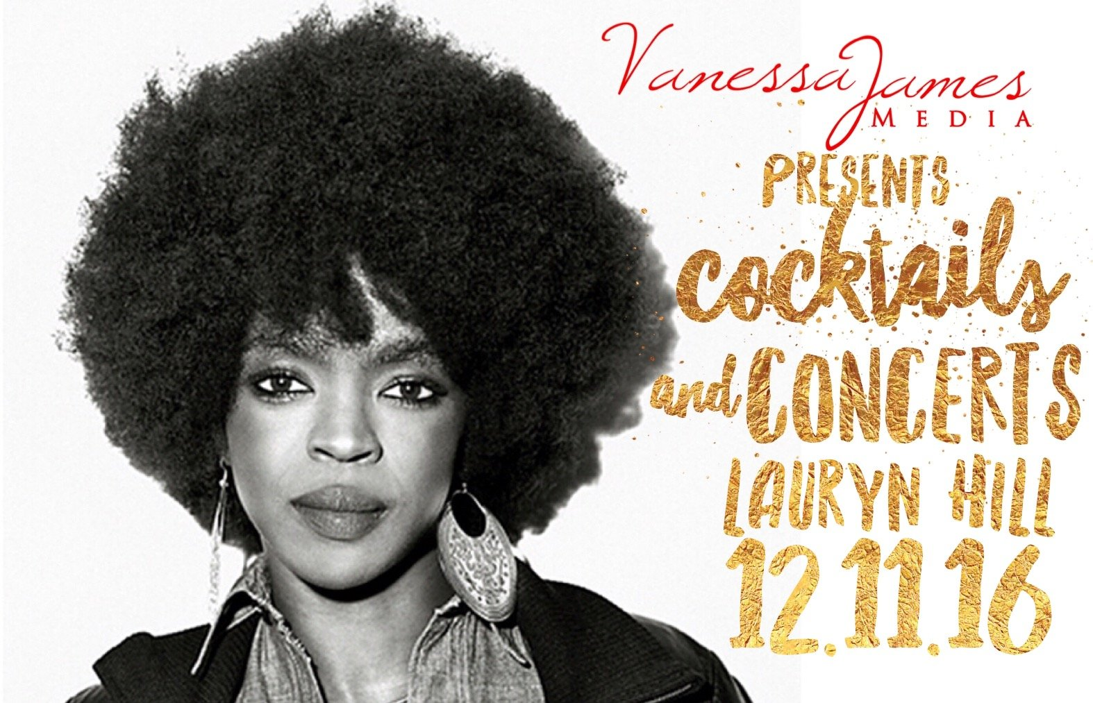 #CocktailsandConcerts with Lauryn Hill