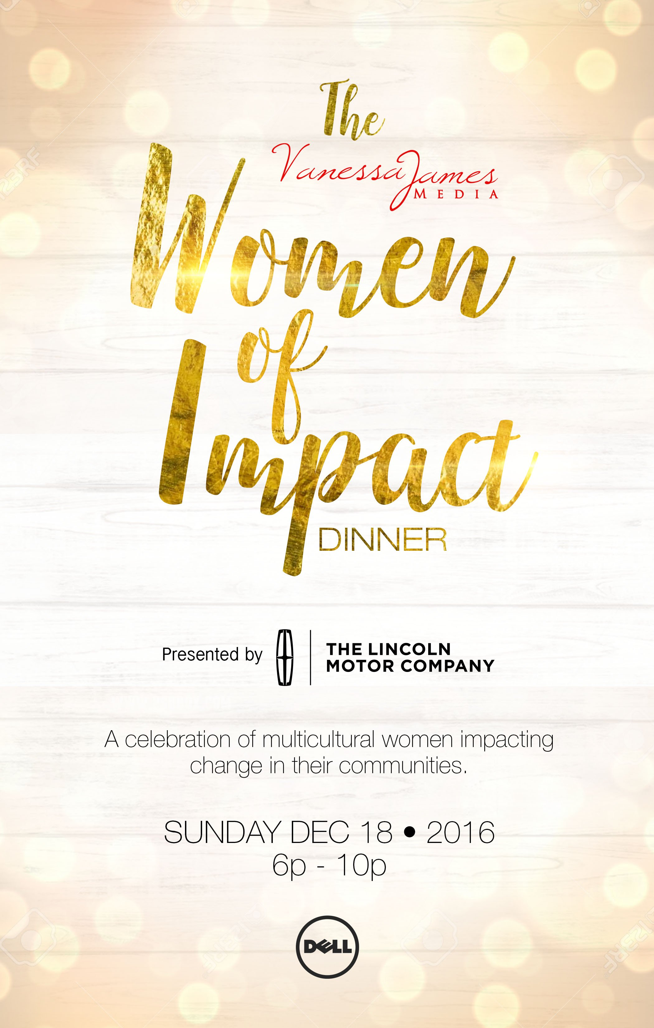 The VJMedia Woman of Impact Dinner – nominations and more!